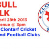 The Bull Walk 2013 – Sun 28th April @ 3pm