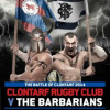 Tickets on sale for Danske Barbarian Challenge Clontarf v Barbarians 23.04.14