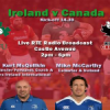Ireland V Canada – Have your say