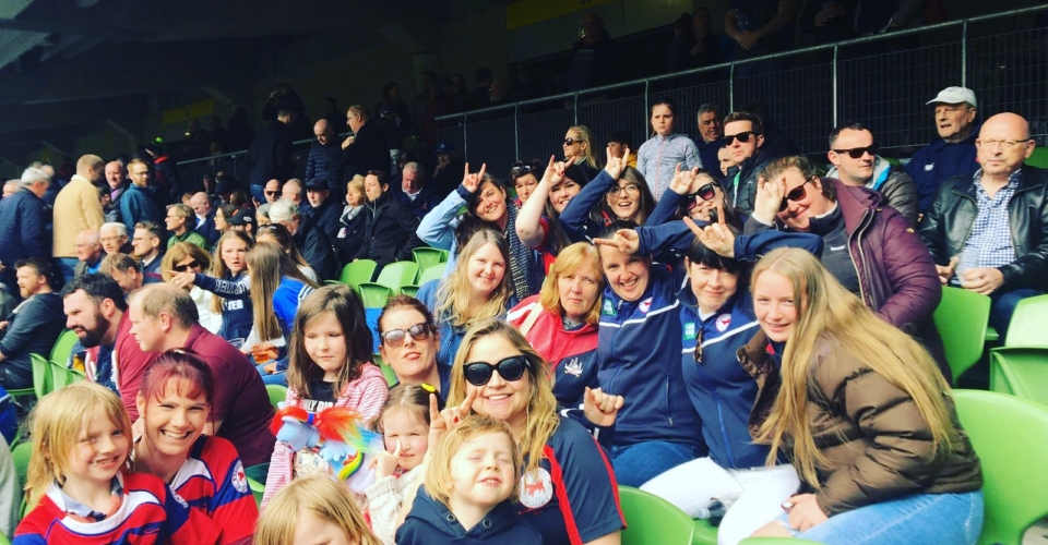Clontarf Women's Rugby Team outing at Aviva Stadium